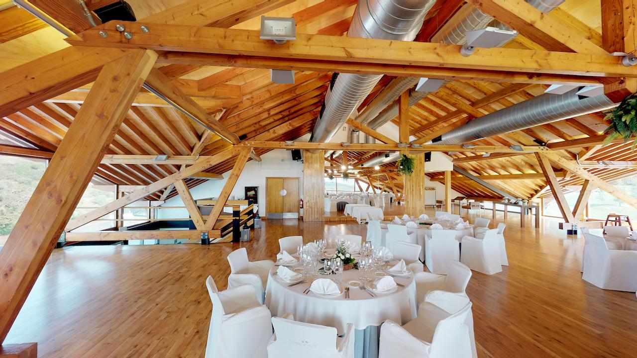 Casa club e instalaciones Campo de golf - Meaztegi Golf.- Bizkaia · Bilbao 0106