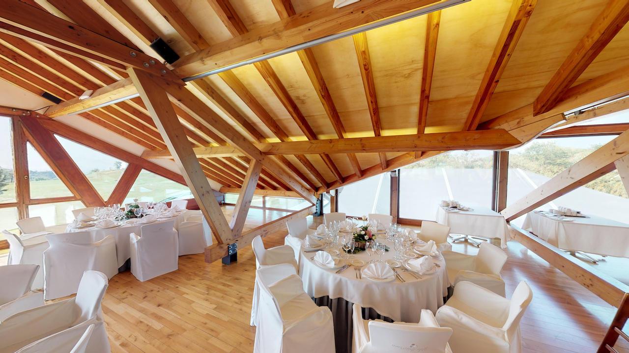 Casa club e instalaciones Campo de golf - Meaztegi Golf.- Bizkaia · Bilbao 0107