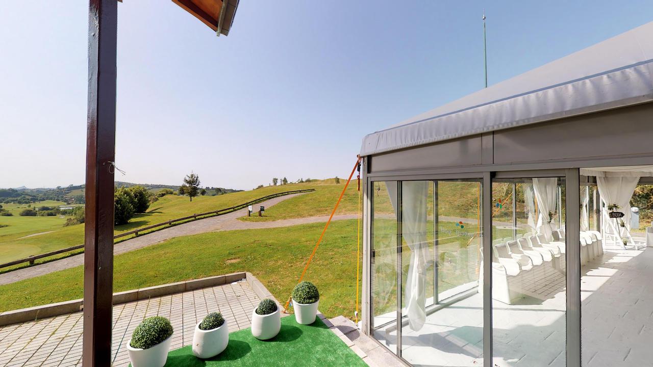 Casa club e instalaciones Campo de golf - Meaztegi Golf.- Bizkaia · Bilbao 0111