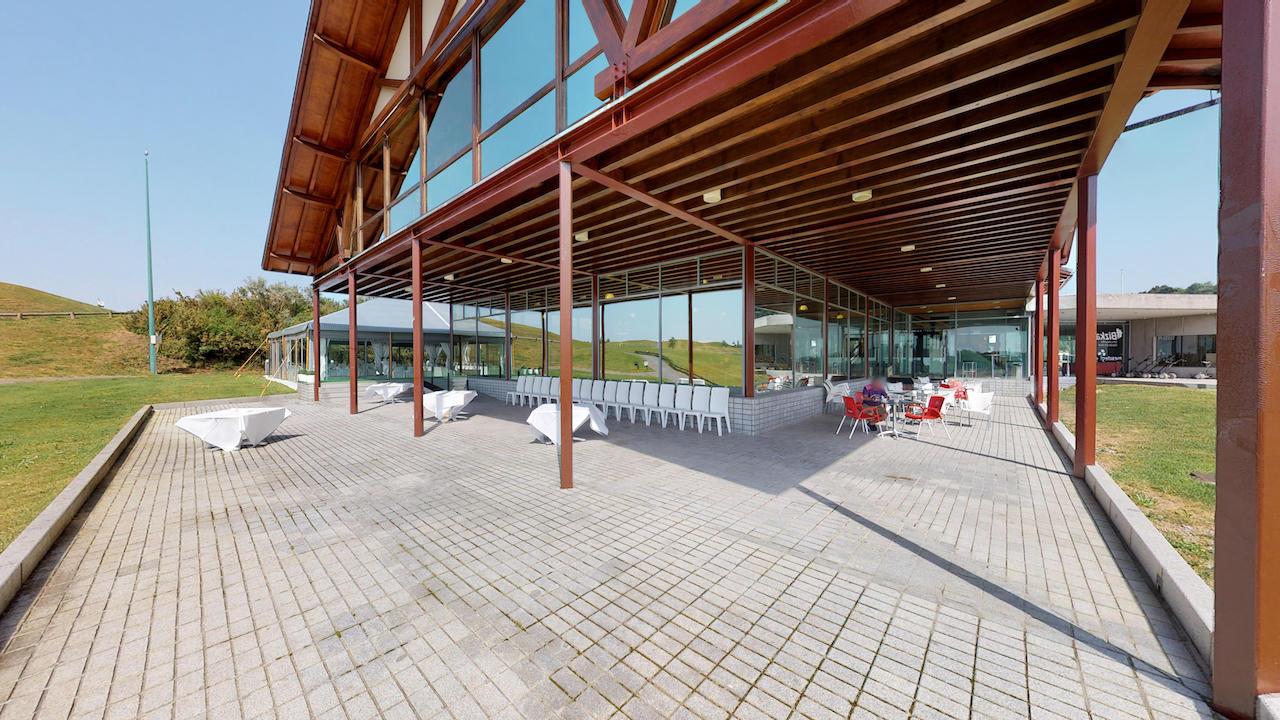 Casa club e instalaciones Campo de golf - Meaztegi Golf.- Bizkaia · Bilbao 0114