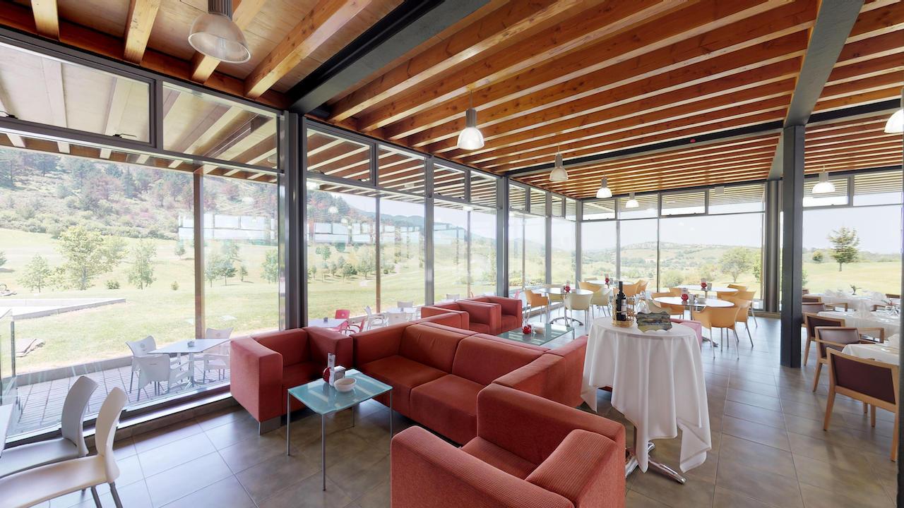 Casa club e instalaciones Campo de golf - Meaztegi Golf.- Bizkaia · Bilbao 0124
