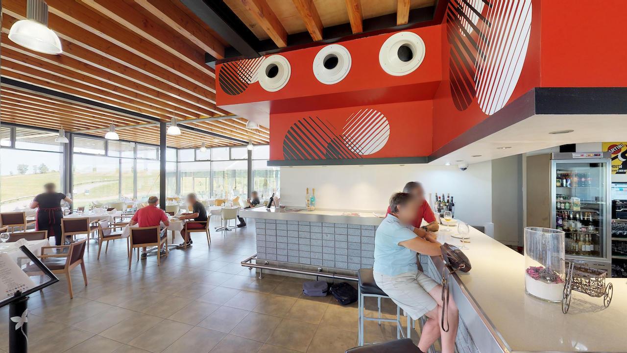 Casa club e instalaciones Campo de golf - Meaztegi Golf.- Bizkaia · Bilbao 0125