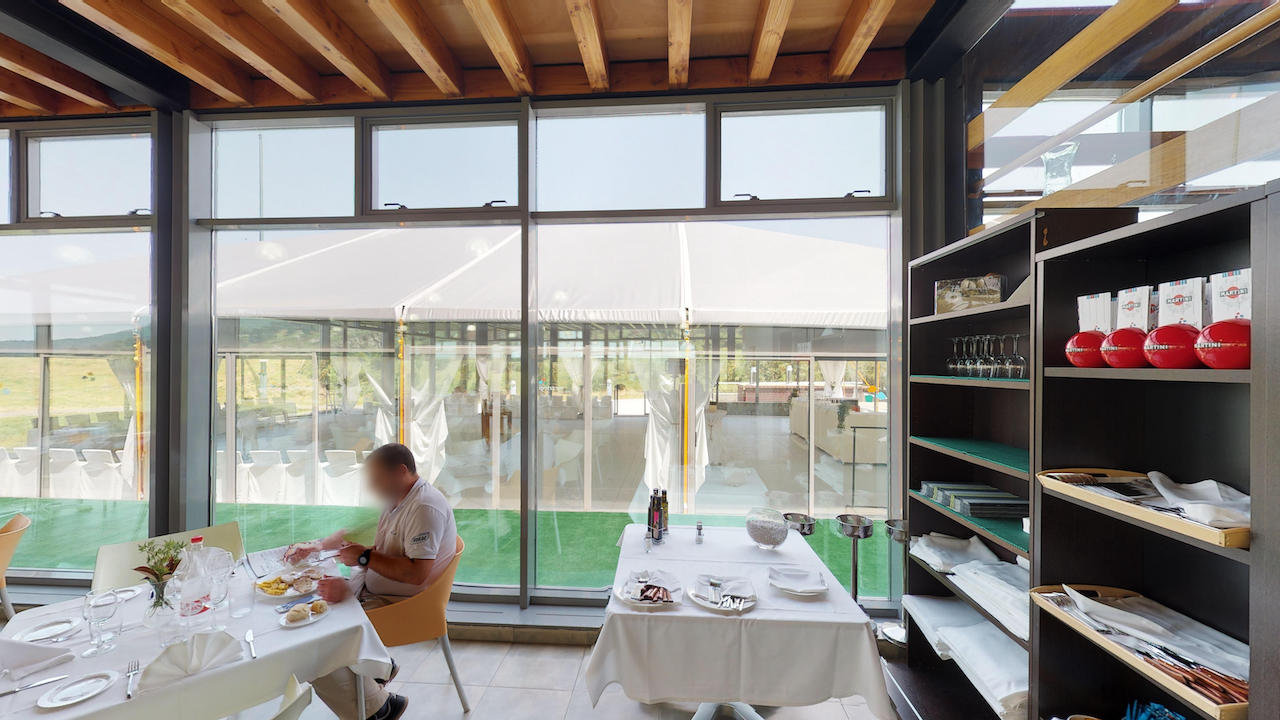 Casa club e instalaciones Campo de golf - Meaztegi Golf.- Bizkaia · Bilbao 0126
