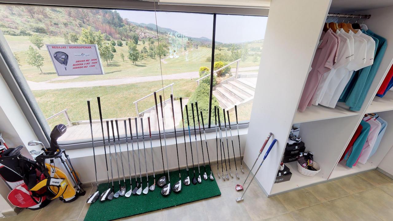 Casa club e instalaciones Campo de golf - Meaztegi Golf.- Bizkaia · Bilbao 0133