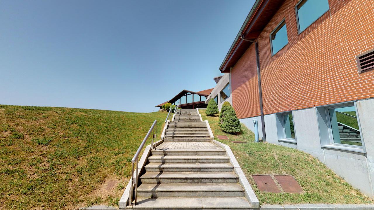 Casa club e instalaciones Campo de golf - Meaztegi Golf.- Bizkaia · Bilbao 0141