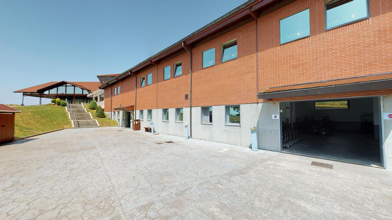 Casa club e instalaciones Campo de golf - Meaztegi Golf.- Bizkaia · Bilbao 0142