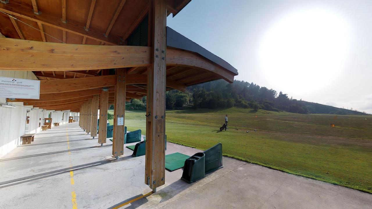 Casa club e instalaciones Campo de golf - Meaztegi Golf.- Bizkaia · Bilbao 0144