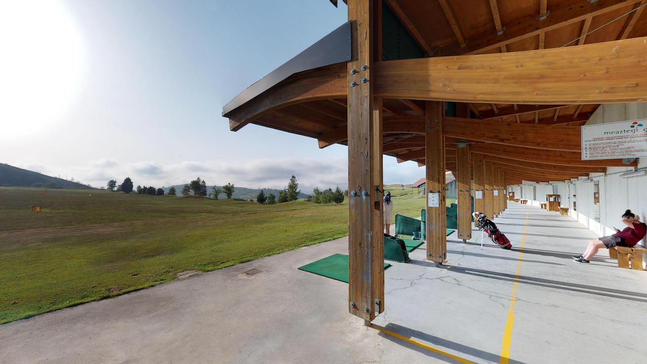 Casa club e instalaciones Campo de golf - Meaztegi Golf.- Bizkaia · Bilbao 0145