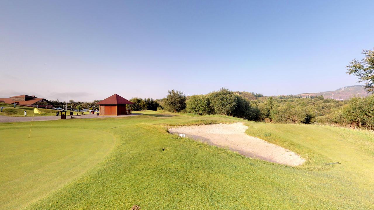 Casa club e instalaciones Campo de golf - Meaztegi Golf.- Bizkaia · Bilbao 0151