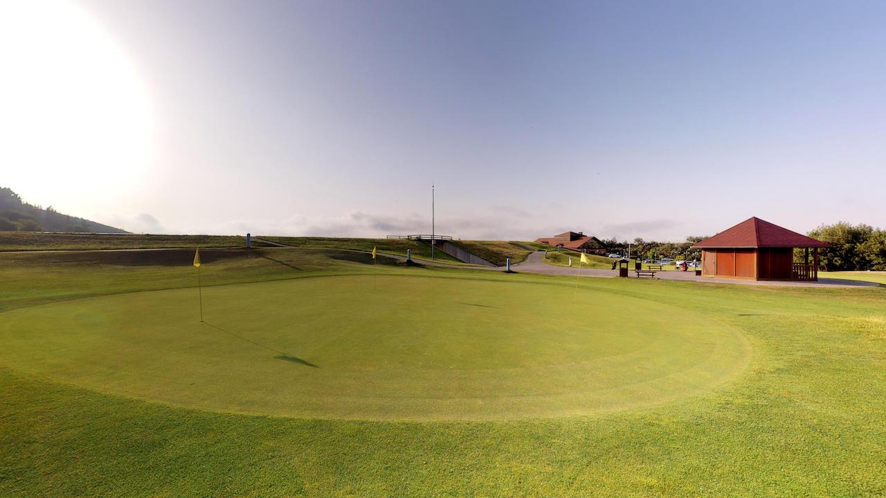 Casa club e instalaciones Campo de golf - Meaztegi Golf.- Bizkaia · Bilbao 0153