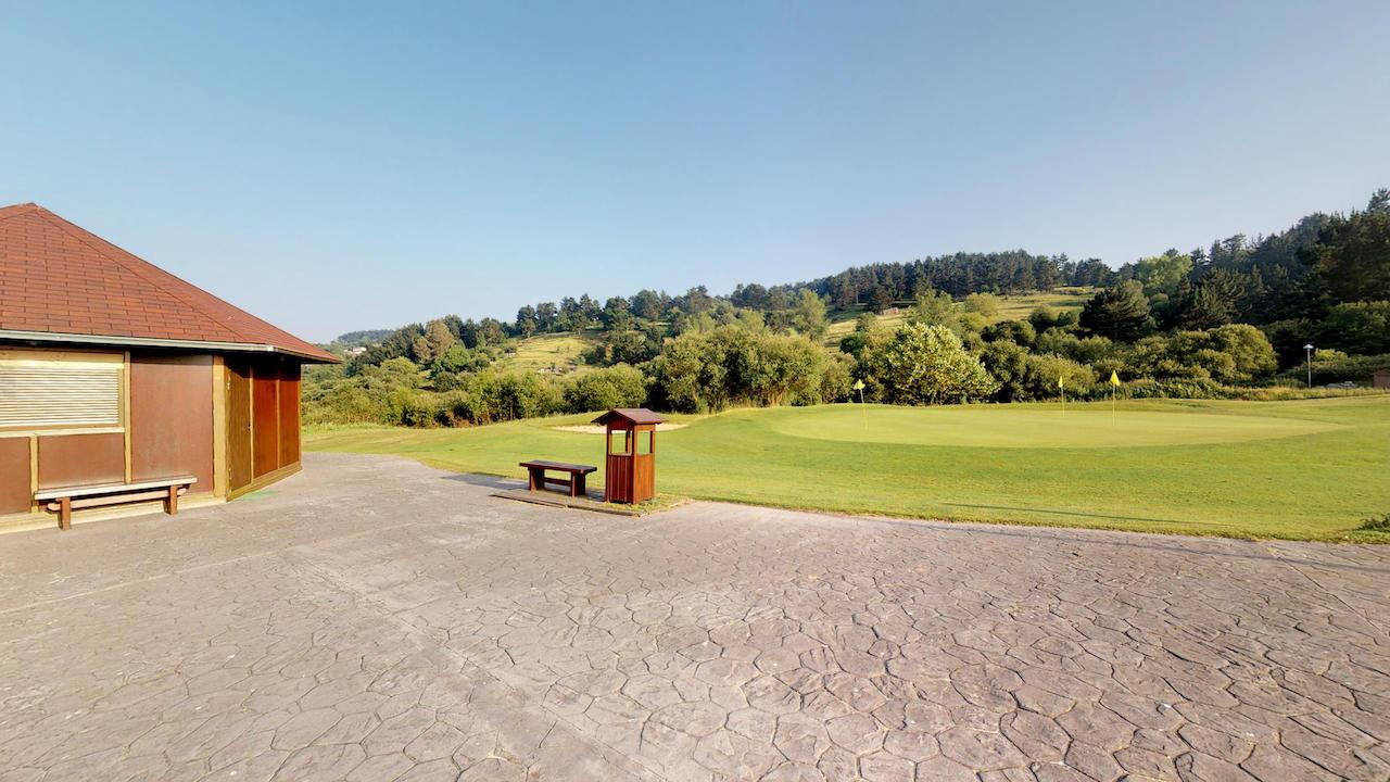Casa club e instalaciones Campo de golf - Meaztegi Golf.- Bizkaia · Bilbao 0154