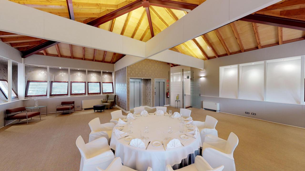 Casa club e instalaciones Campo de golf - Meaztegi Golf.- Bizkaia · Bilbao 0158