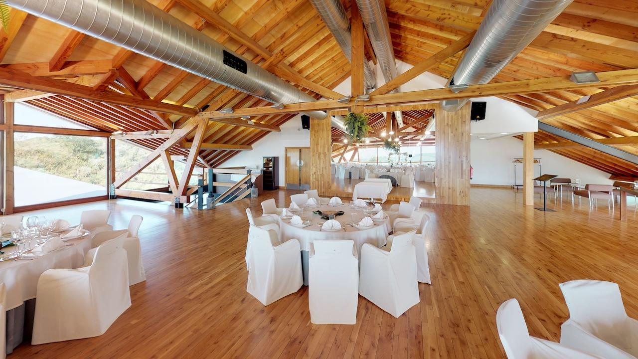 Casa club e instalaciones Campo de golf - Meaztegi Golf.- Bizkaia · Bilbao 0162