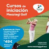 Promoción cursos de iniciación Meaztegi Golf - Enero 2021
