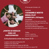 CARTEL I SCRAMBLE MIXTO